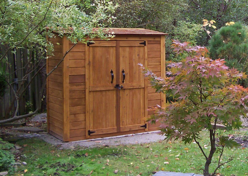 grand garden chalet cedar garden shed contemporary sheds vancouver by outdoor living today