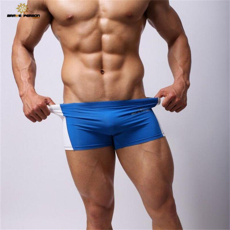 Brave Person Mens Sexy Underwear Men Boxer Shorts Tight Trunks for Man  Nylon Panties Men Boxers fc1d1a1e2b1