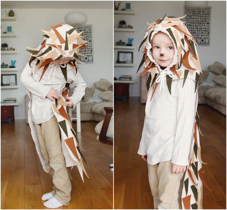 Igel Kostum Selber Machen Diy Ideen Fur Kinder Und Erwachsene