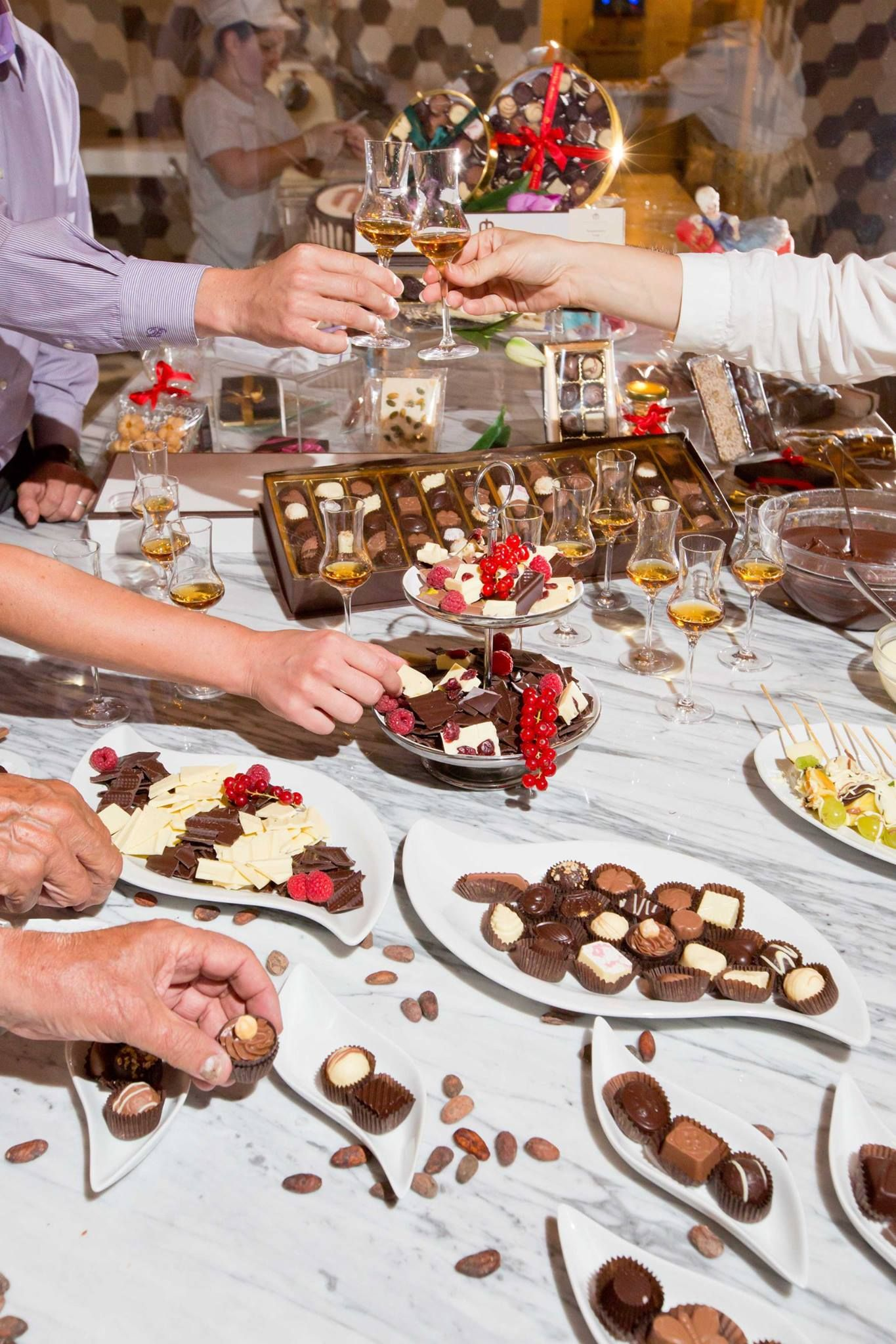 """""""Milenij Choco World"""" where you can see the process of making #chocolate, #cakes and other chocolate products and buy 'the sweetest gifts' from #Opatija"""