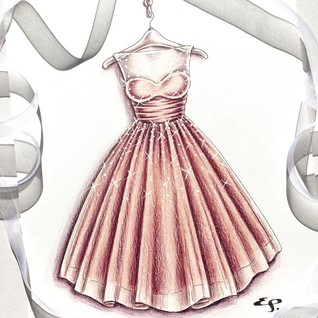 I will be putting some original dress sketches up for sale on my ...