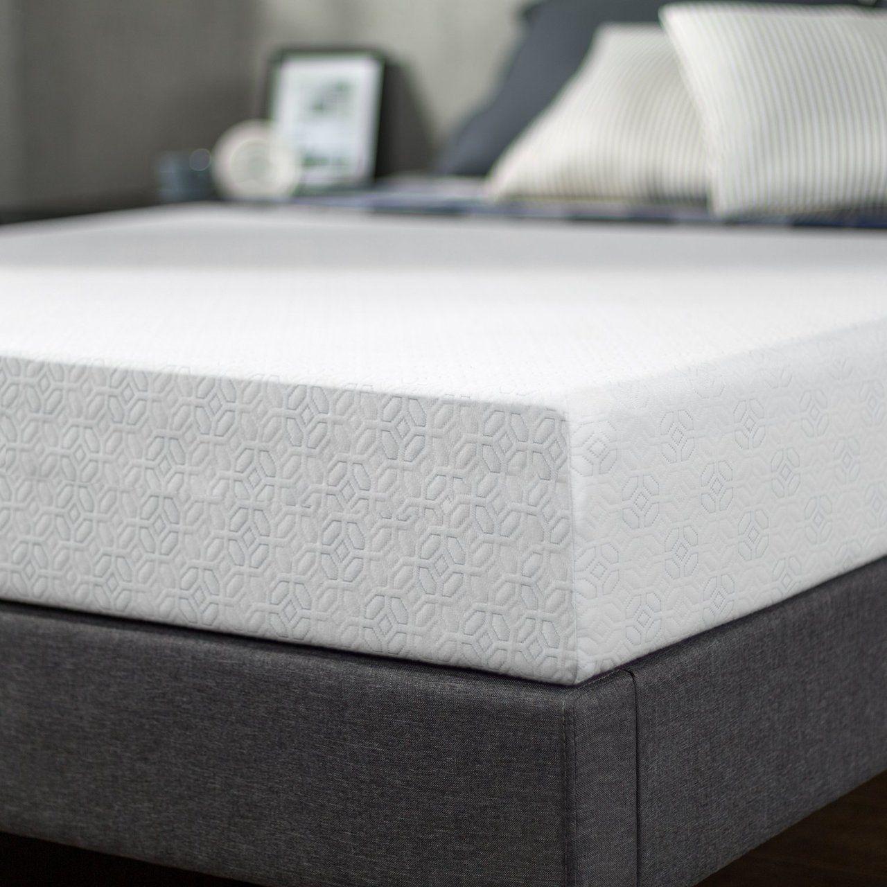 Rv Memory Foam Mattress 8 Thick Bed Memory Foam Mattress Twin