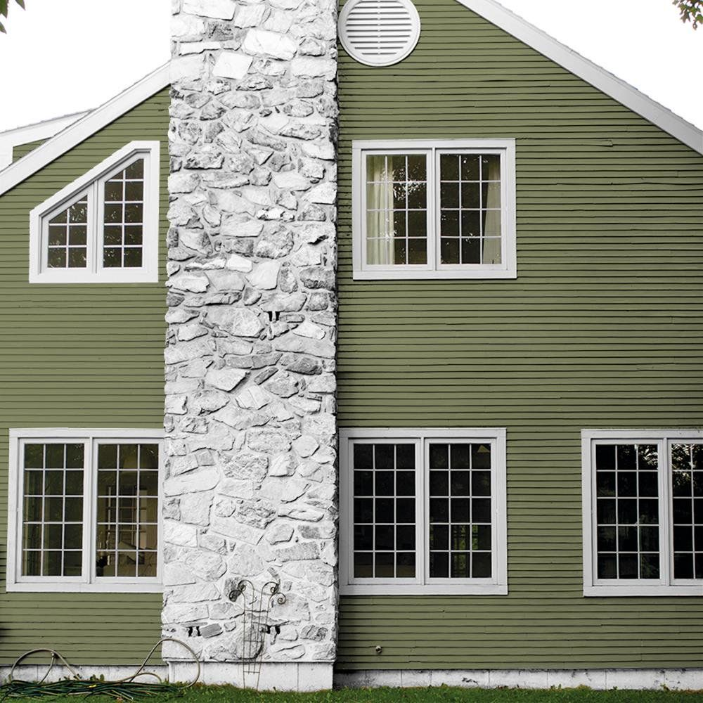 Truly Olive Green Sage Paint And Primer Glidden High Endurance Plus Exterior Walmart Com In 2020 Outdoor Paint Exterior Exterior Paint