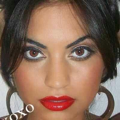 Red lipstick artistry