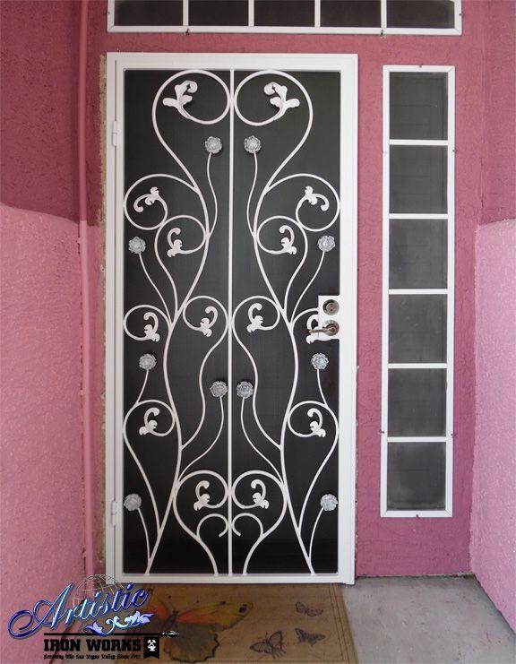 Security Doors Wrought Iron Security Doors Iron Security Doors