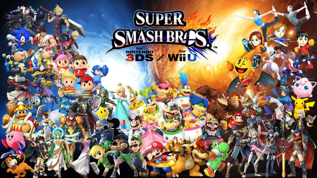 Super Smash Bros Wii U 3DS Wallpaper By Erron Blackdeviantart On DeviantArt