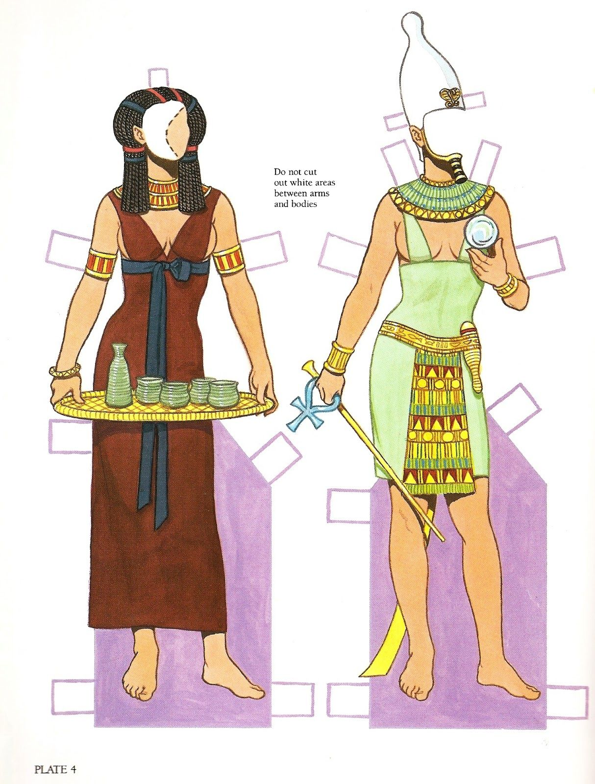 Egyptian Paper Doll Posted 6th