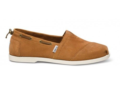 dcad20499f1 TOMS Camel Suede Men s Nautical Bimini  Rich suede construction gives our  East Coast prepster-