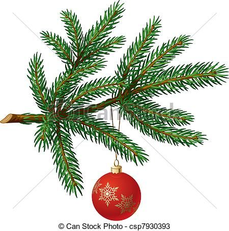 Image Result For Fir Tree Branch Drawing Christmas Tree Branches Paper Christmas Tree Ribbon On Christmas Tree