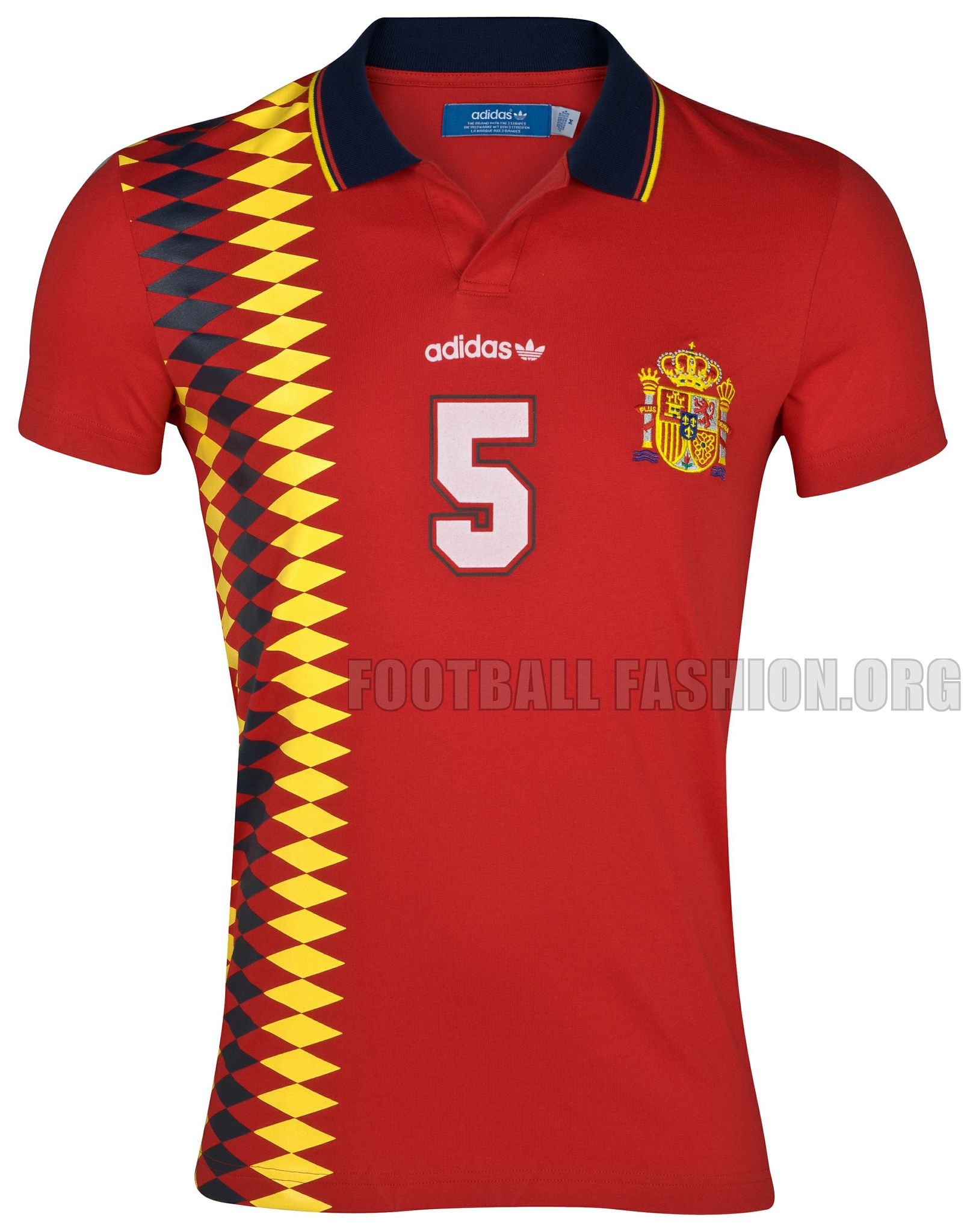 31e4d73cf6f Spain adidas Originals 1994 Home Jersey | Soccer Jerseys | Football ...