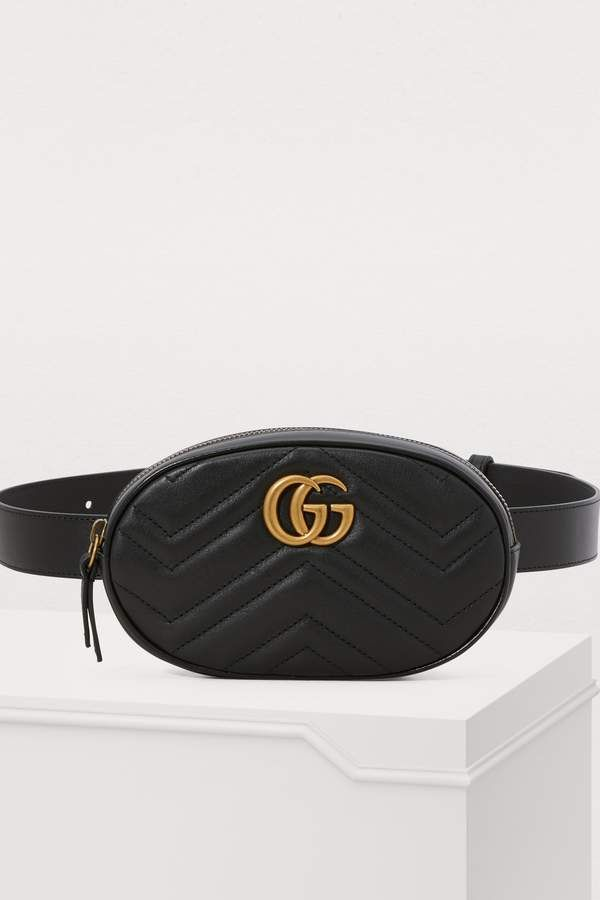 dfeab580368c Gucci GG Marmont belt bag #ggbag | Handbags Hobo in 2019 | Leather ...