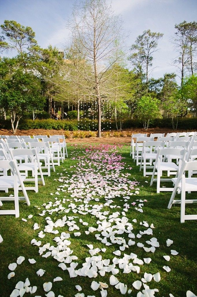 A Spring Watercolor Wedding Beach Wedding Aisles Watercolor Inn