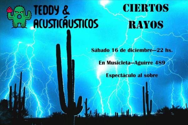 CIERTOS RAYOS en Musicleta