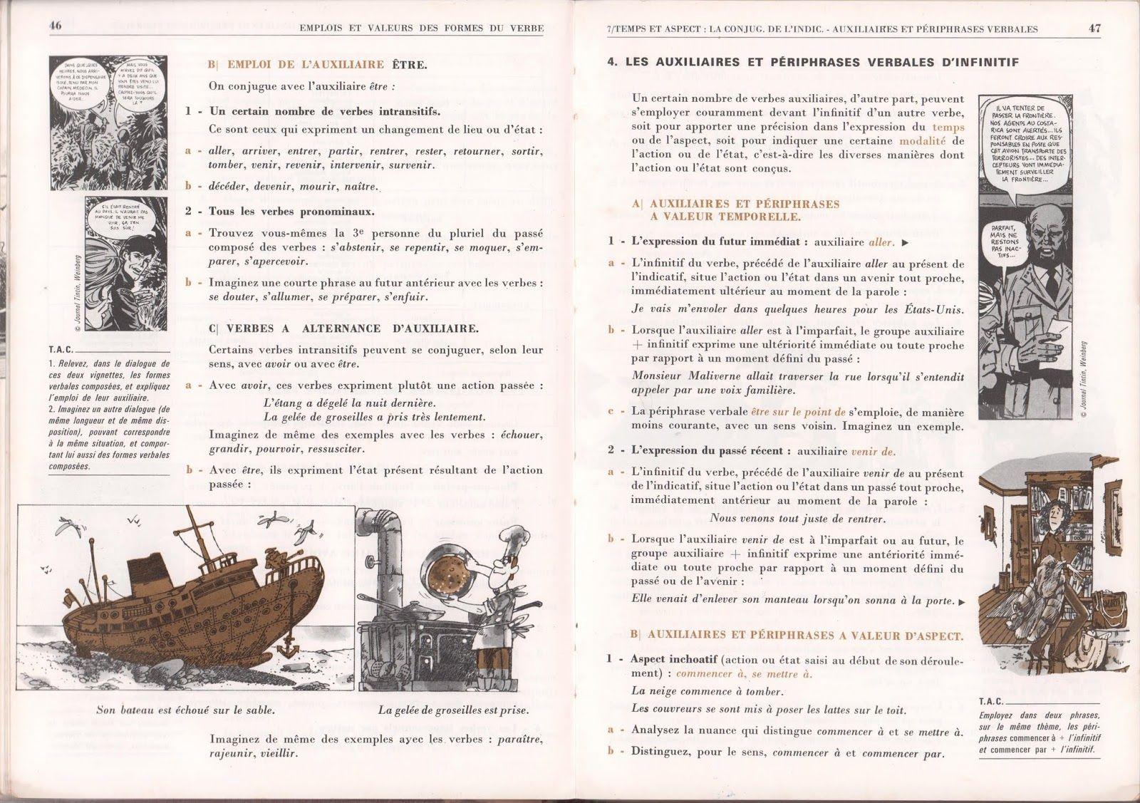 Grunenwald Mitterand Erea Nouvel Itineraire Grammatical 4e 1979 Grandes Images En 2020 Images