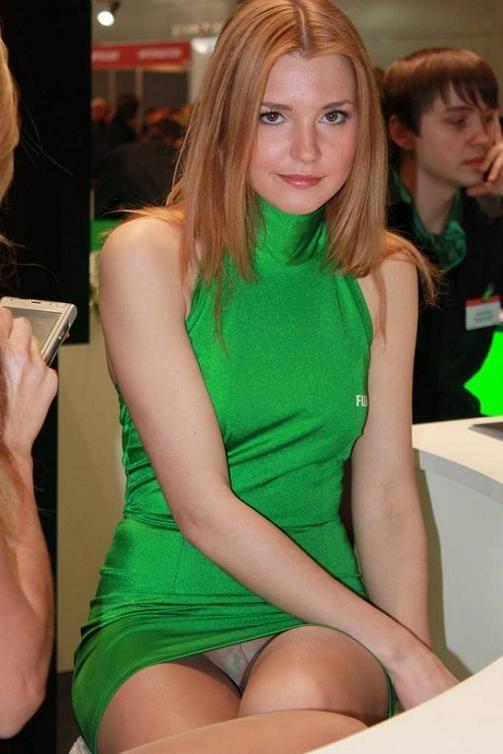 upskirt green
