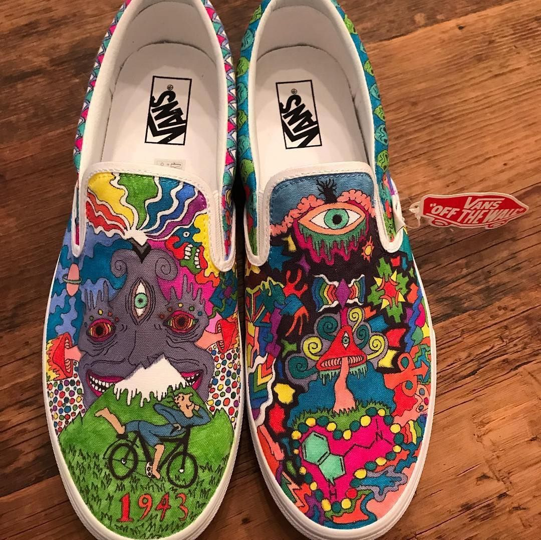 Pin by Mido Taha on Psychedelic Shoes in 2020