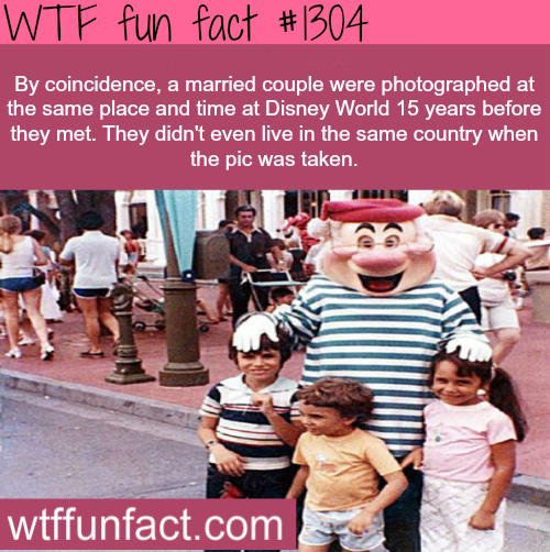 disney facts By coincidence, a married couple were ...
