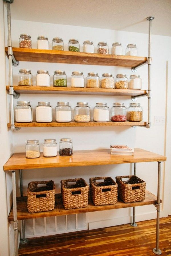 Awesome Many People Have Traditionally Shied Away From Adopting Open Shelving Ideas  For Their Kitchen Designs. Part 31