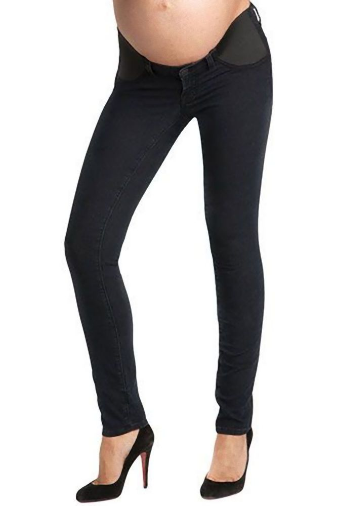 J brand maternity skinny leggings mama j 3401 olympia navy dark blue size  28 new - J Brand Maternity Skinny Leggings Mama J 3401 Olympia Navy Dark