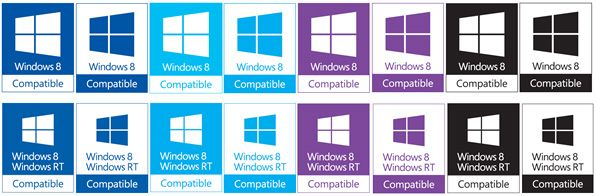 Microsoft released guidelines for Windows 8/RT Compatible