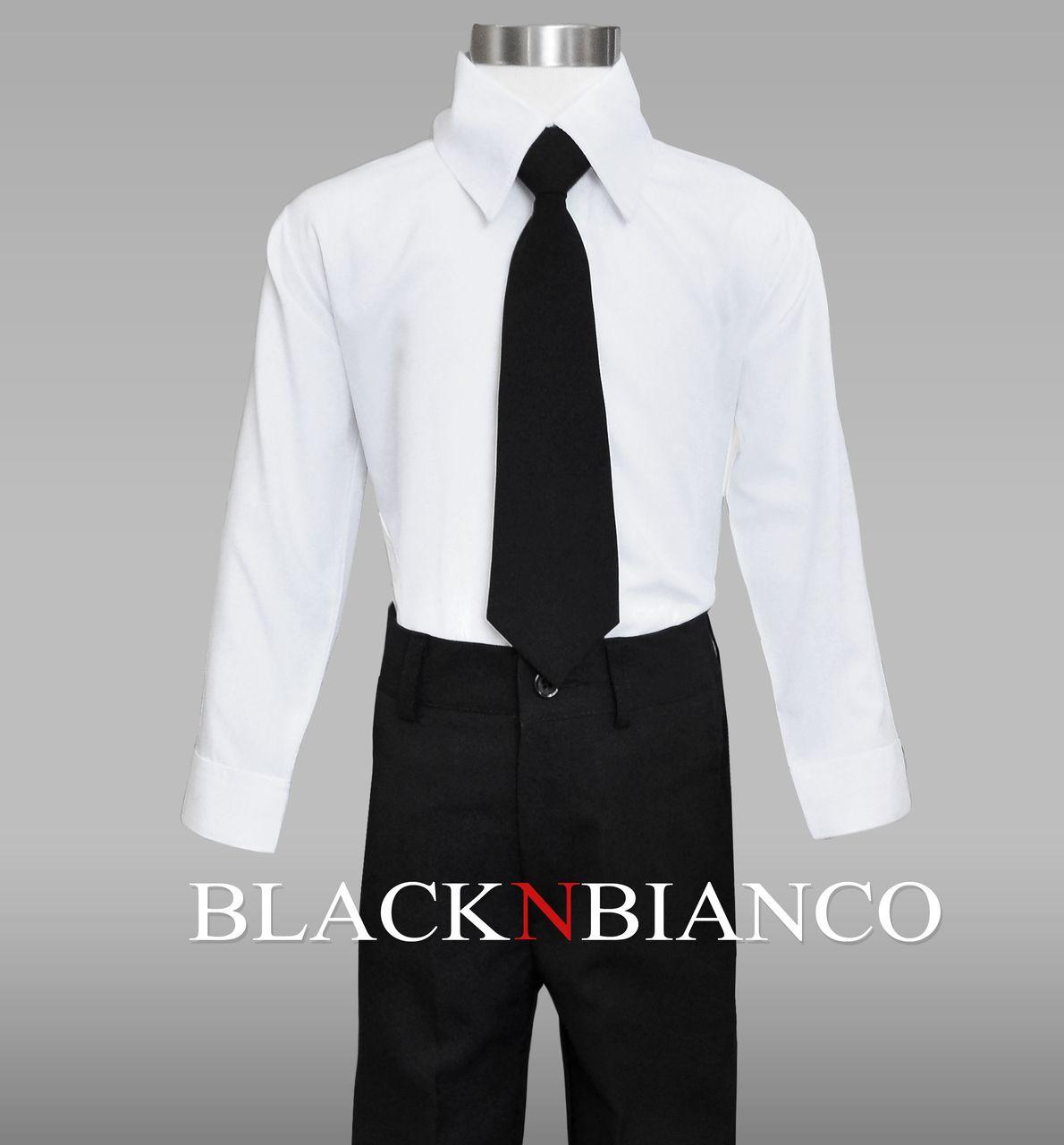 Boys Suit Black Dresswear Set Boys White Dress Shirt Boys Suits Boys Tuxedo [ 1280 x 1190 Pixel ]
