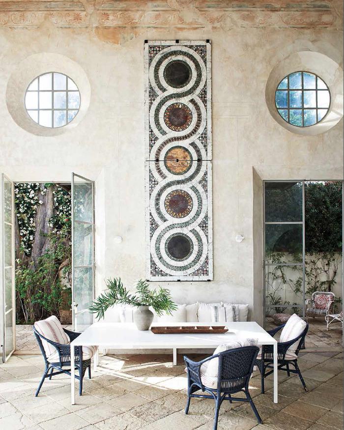 Visite De Deux Villas Mythiques A Los Angeles Idees De Patio Maison En Pierre Architecture