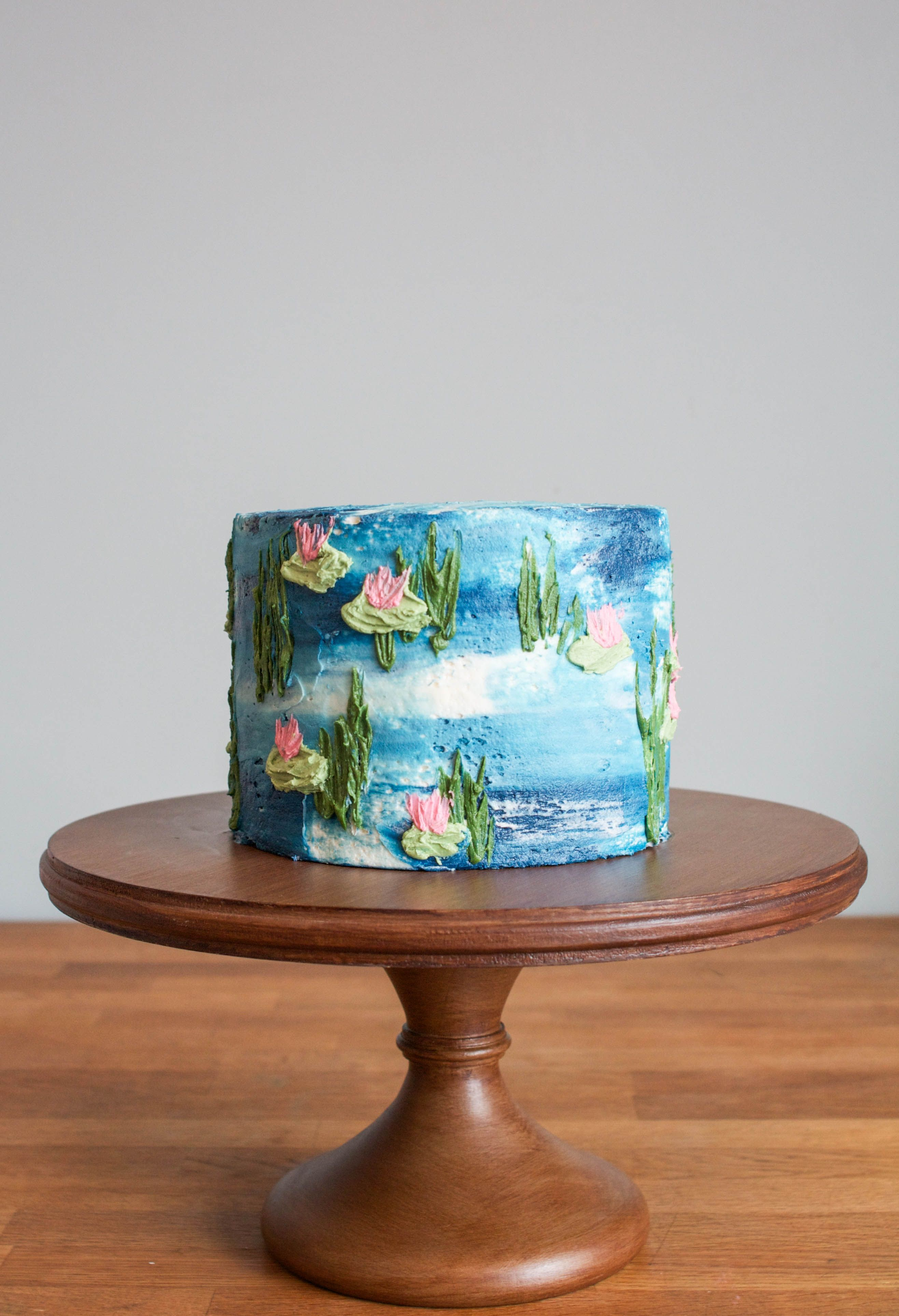 Hand Painted Cakes Made Easy With Buttercream Floral