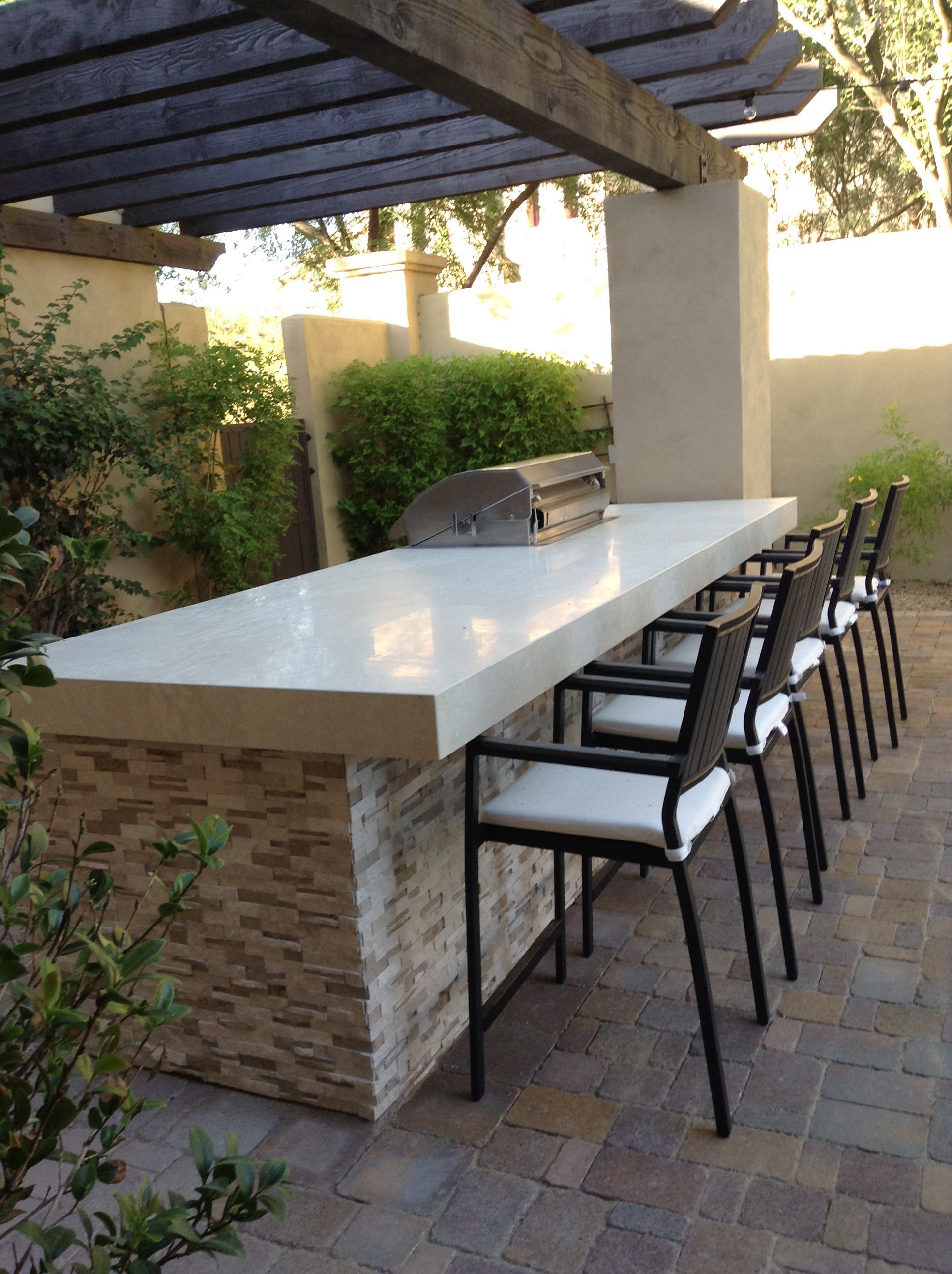 frieze into kitchens cut vignette slope granite funky with inspirational veneer kitchen cabinets patio finish ideas stone diy of outdoor fine