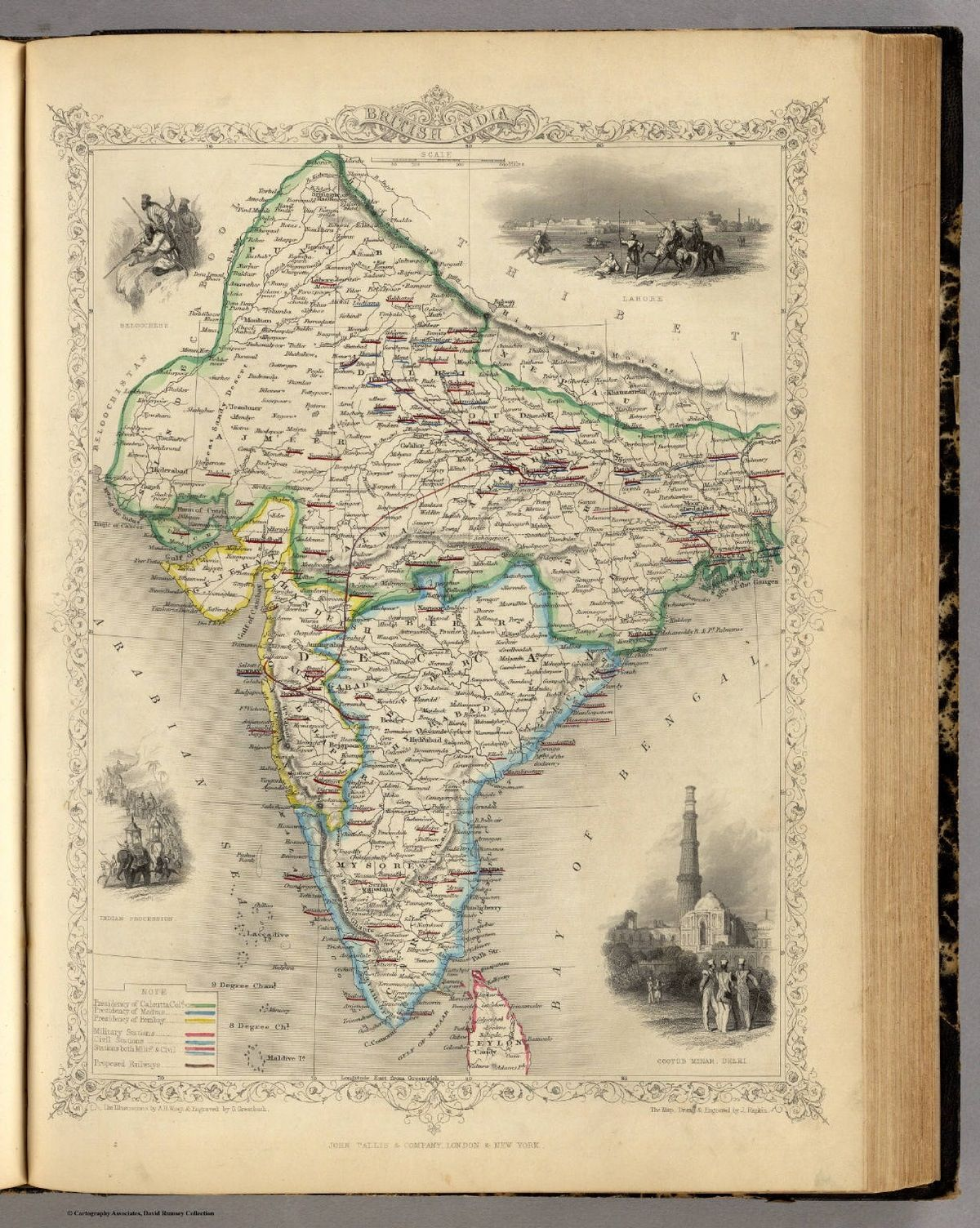 Old map of india india pinterest india and history old map of india gumiabroncs Images
