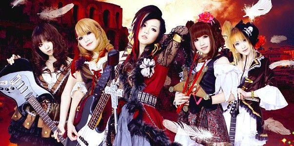 Japanske Alle Pige Metal Band