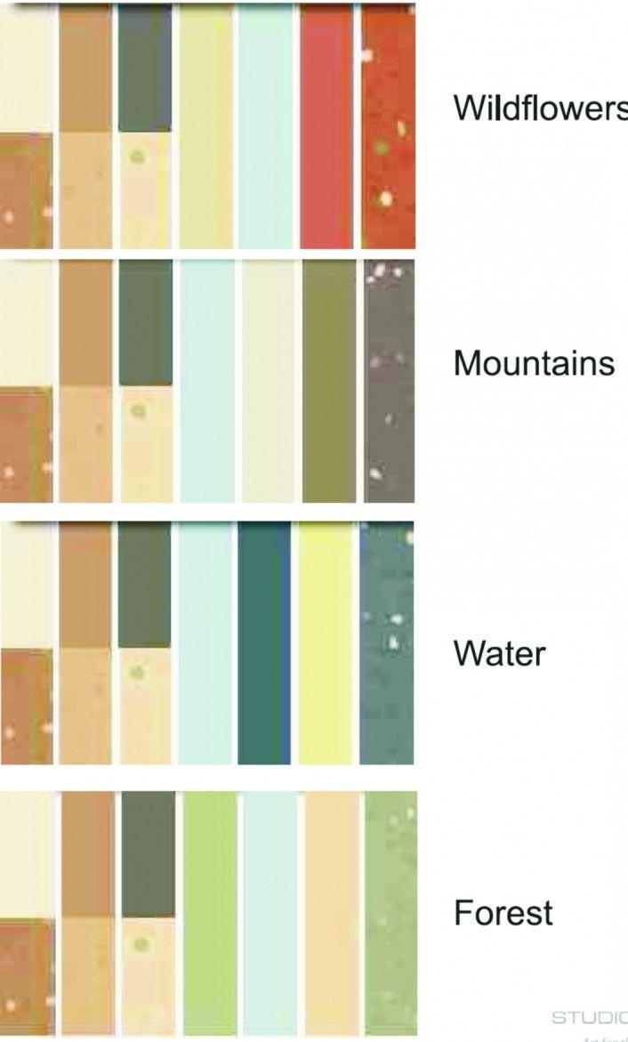 Mid Century Modern Decorating Colors | Mid Century Modern Color Palette:  Amazing Color Palette