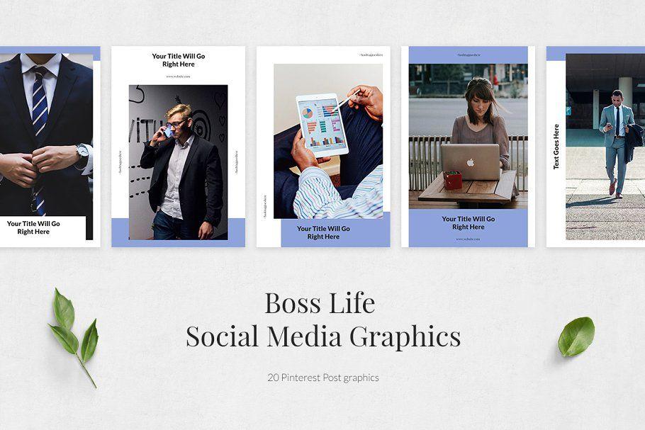 Boss life pinterest posts boss life social media
