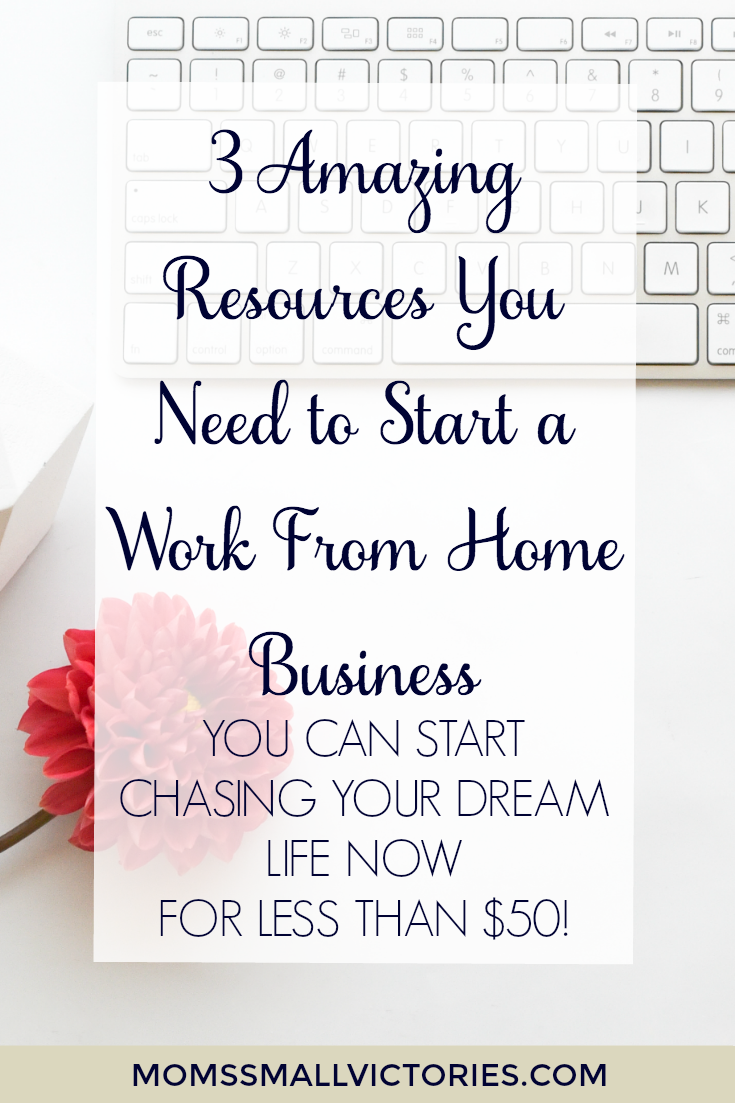 3 Amazing Resources You Need to Start a Work from Home Business ...