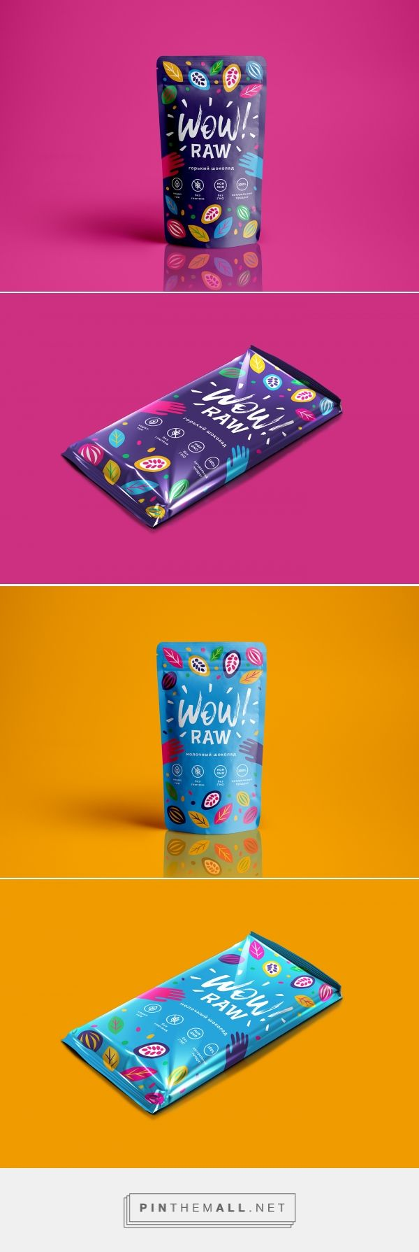 Wow raw chocolate by Vivien Morokhina. Source: Behance. Pin curated by #SFields99 #packaging #design #inspiration #ideas #innovation #branding #product #chocolate