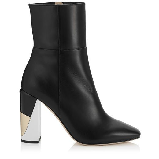 c1c9dd410183 Melrose 95 Ankle Boots in Black Nappa Leather.