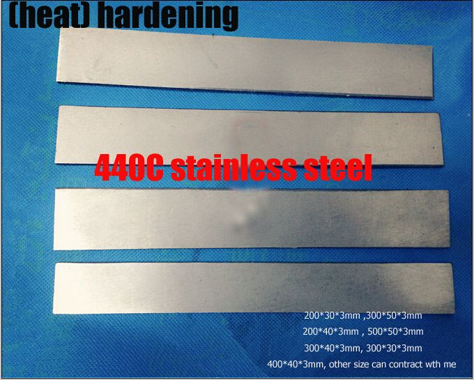 Aliexpress Com Buy Hrc58 60 Heat Hardening 440c Stainless Steel Plate Bar Rod Knife Diy Blade More Size Ch Stainless Steel Plate Stainless Steel Stainless