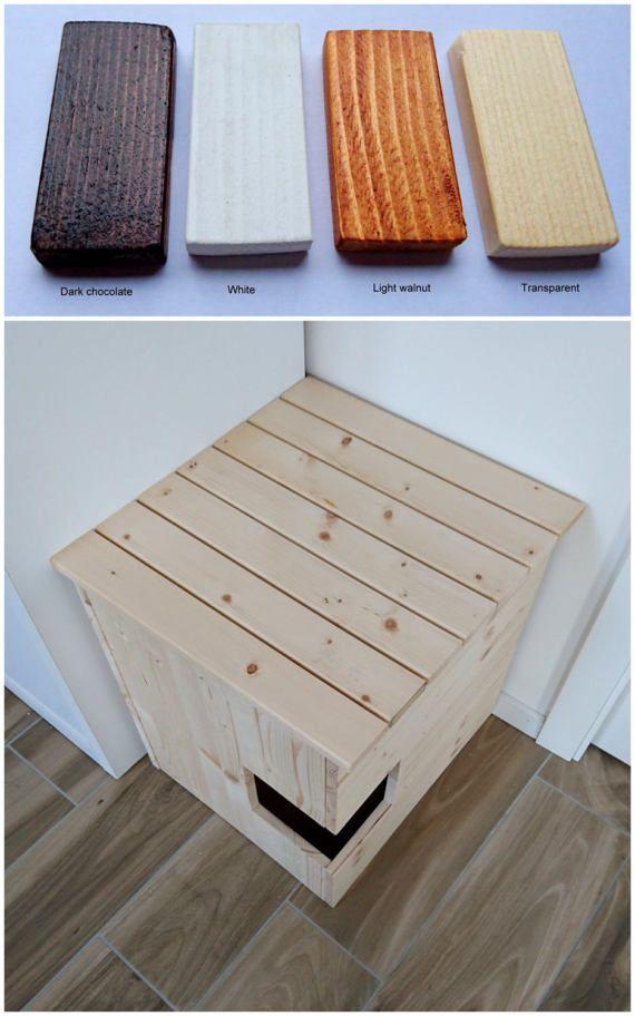 corner cat litter box furniture. Corner Litter Box Cover Pet House Cat By PinkBau Furniture R