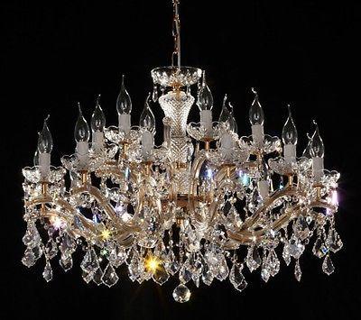 lustre venitien restaurant 80 18 feux or 24 carats. Black Bedroom Furniture Sets. Home Design Ideas