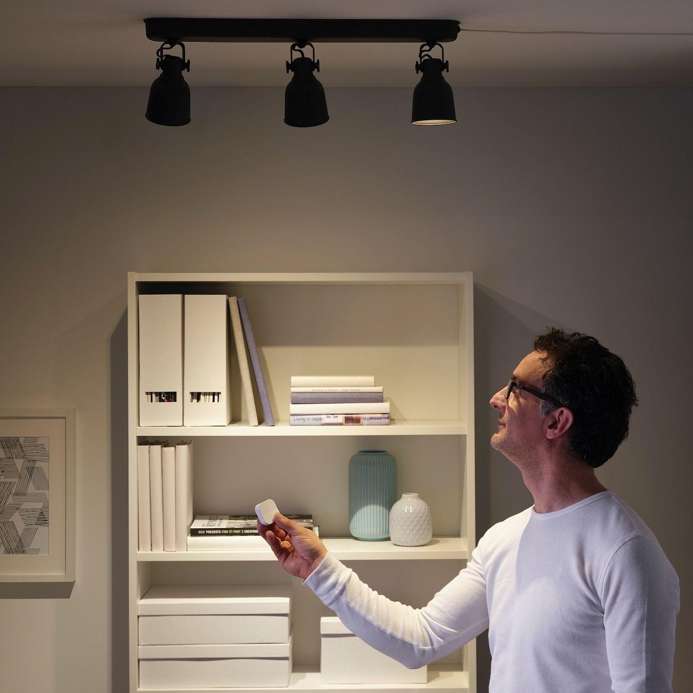 Tradfri Tradlos Lysdaemper Hvid Ikea I 2020 Ikea Hvid Lys