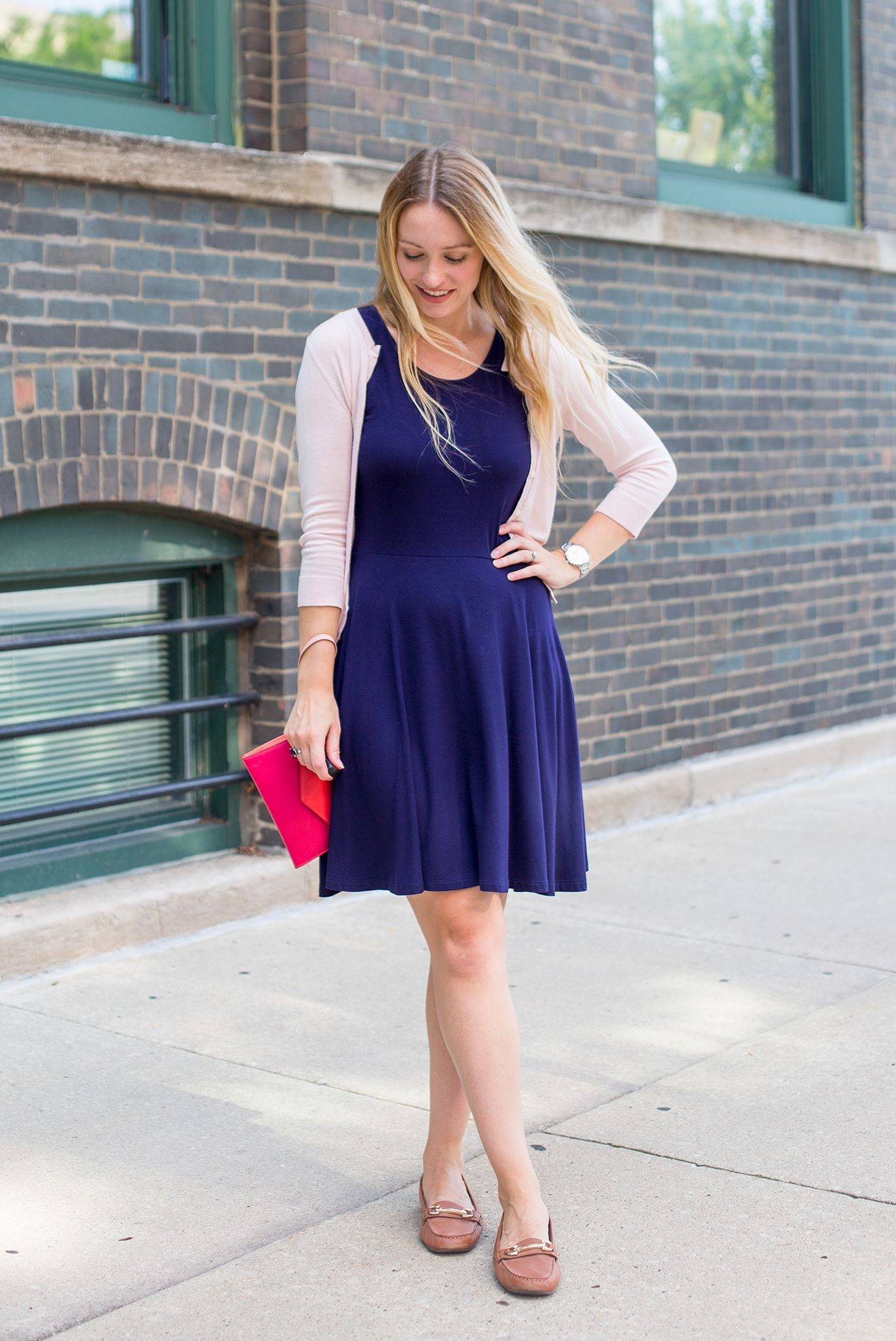 3 Ways Navy Fit And Flare Dress Style By Joules Fit And Flare Dress Flare Dress Dresses [ 1975 x 1320 Pixel ]