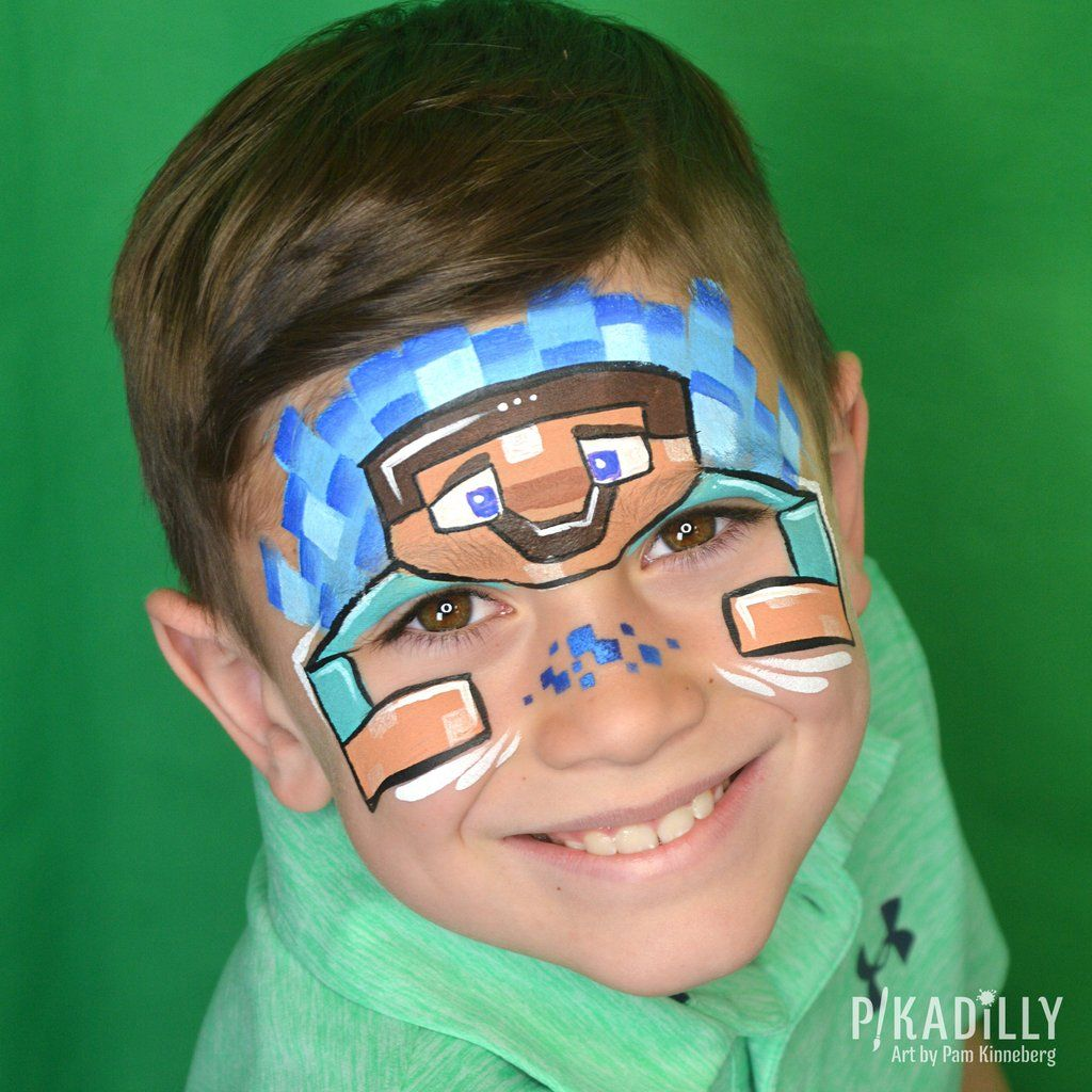 Pin on Face paintings