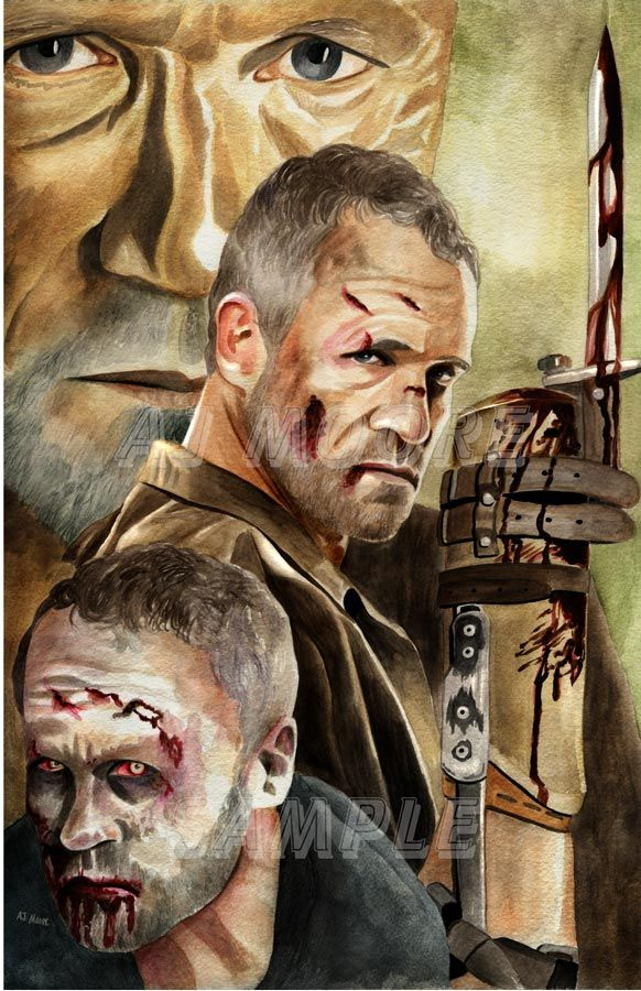 Merle Dixon-by AJ Moore by GudFit on DeviantArt More