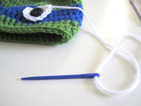 Crochet Ninja Turtle hat tutorial. | WefollowPics | Crochet Ninja ...