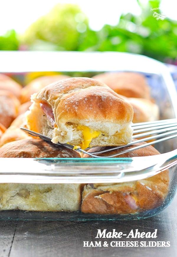 Make Ahead Ham and Cheese Sliders
