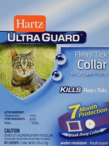 Hartz Ultra Guard Flea & Tick Collar For Cats & Kittens