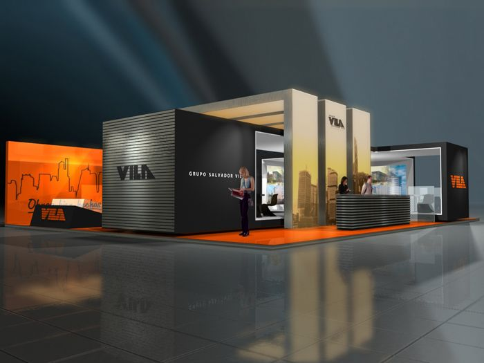 Modern Exhibition Stand Designs : Quot bring the modern edge to your next tradeshow