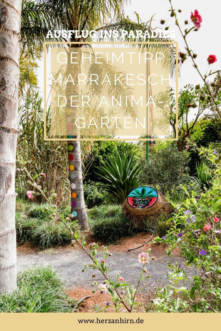 Geheimtipp Marrakesch Der Anima Garten Ein Ausflug Ins Paradies Marrakesch Garten Und Ausflug