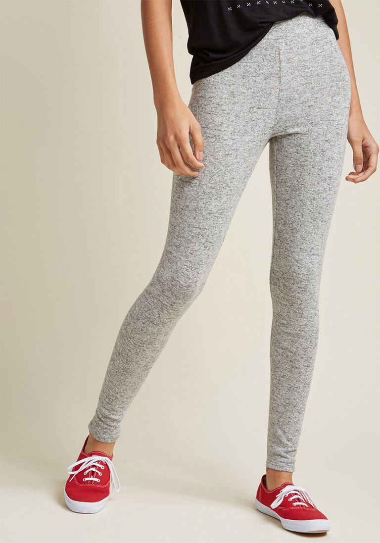12cb978a40b92 Soft and Cozy Leggings in Grey in XXS | Products | Grey leggings ...