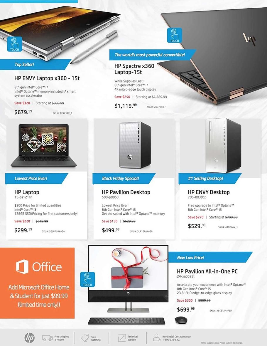 Hp Home Home Office Black Friday 2018 Ads And Deals Black