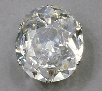 The Koh-i-Noor diamond is the largest stone in the crown worn by Queen Elizabeth The Queen Mother. 'Koh-i-Noor' means 'Mountain of light'.